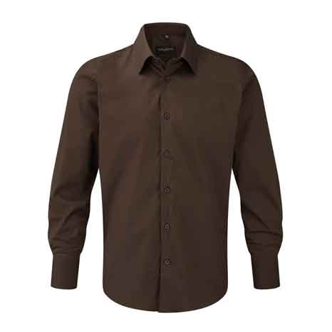 Men's LSL Easy Care Fitted Shirt